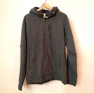 Lululemon Gray Core Hoodie Jacket large